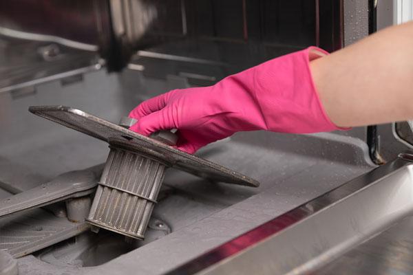 čistenie umývačky riadu