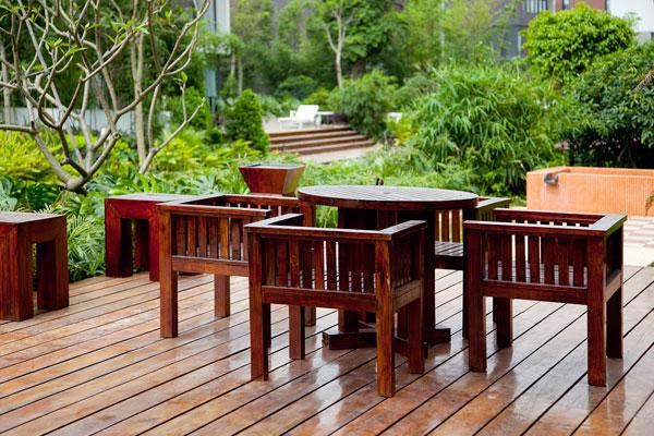 drevená terasa nápady
